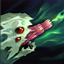 Kog'Maw Ability: Caustic Spittle