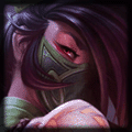 Akali using Needlessly Large Rod