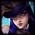 CrackADoodle recently played Caitlyn