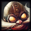 Hextech Munitions is used by Corki