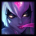 Evelynn using Mejai's Soulstealer