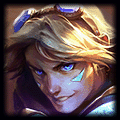 Tristana is best against Ezreal