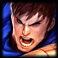 Ashe is best against Garen
