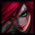 Katarina using Mejai's Soulstealer