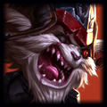 Violent Tendencies is used by Kled