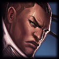 Rugart recently played Lucian