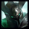 Death's Grasp is used by Mordekaiser