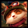 Teemo using Athene's Unholy Grail