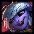 Tristana using Needlessly Large Rod