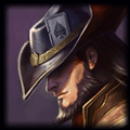 JuJuKokopelli recently played Twisted Fate