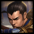 Xin Zhao using Needlessly Large Rod