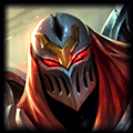 Fnatic xPeke's top champion Zed