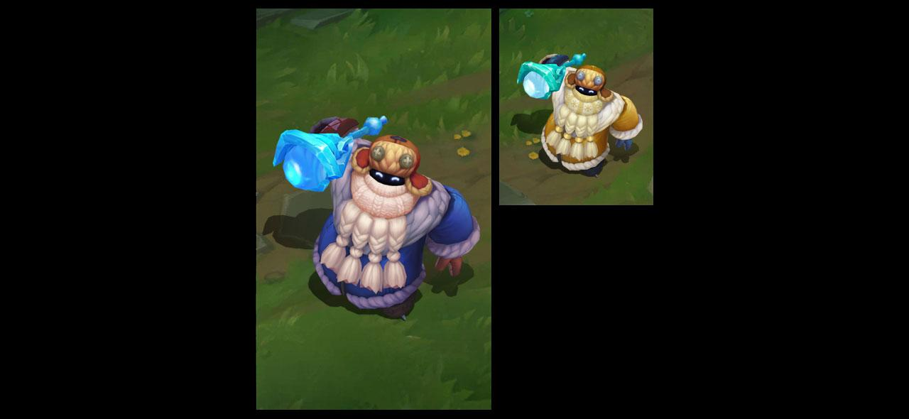 Snow Day Bard League Of Legends Lol Champion Skin On Mobafire