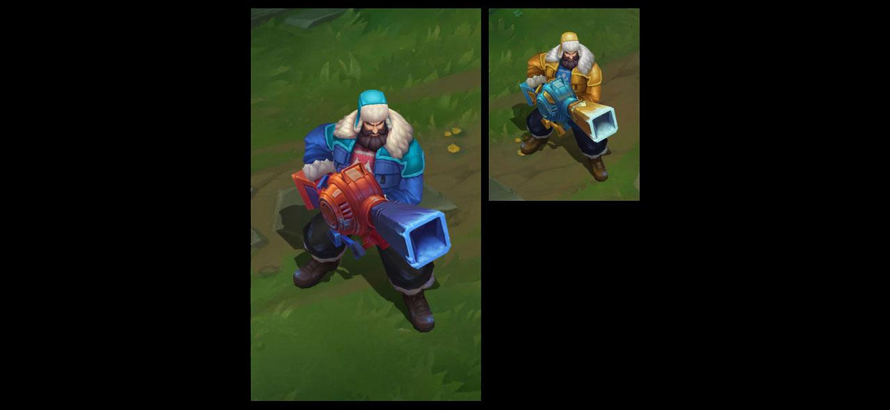 Snow Day Graves League Of Legends Lol Champion Skin On Mobafire