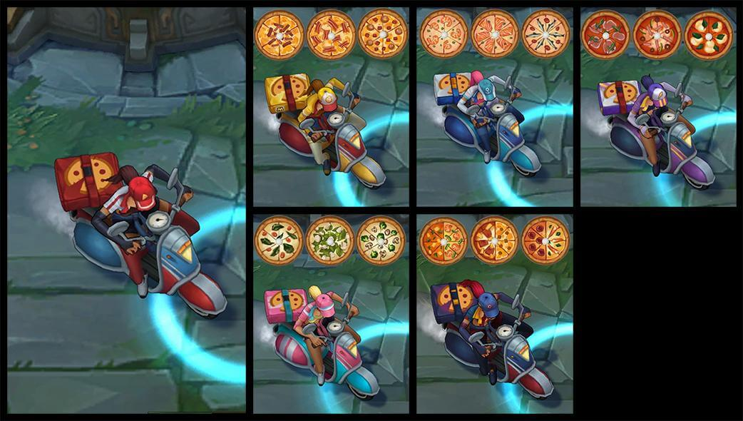 Pizza Delivery Sivir League Of Legends Lol Champion