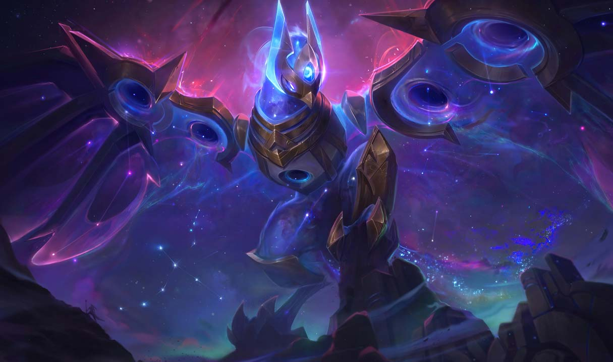 Cosmic Flight Anivia Landscape Skin