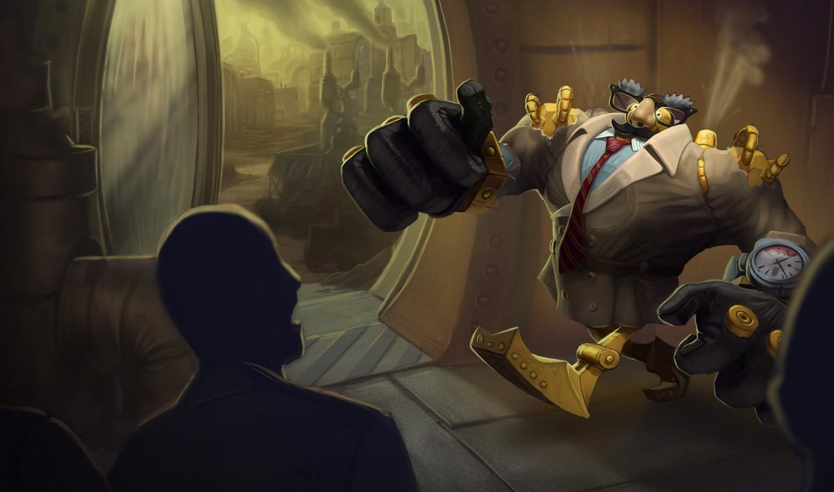 Definitely Not Blitzcrank