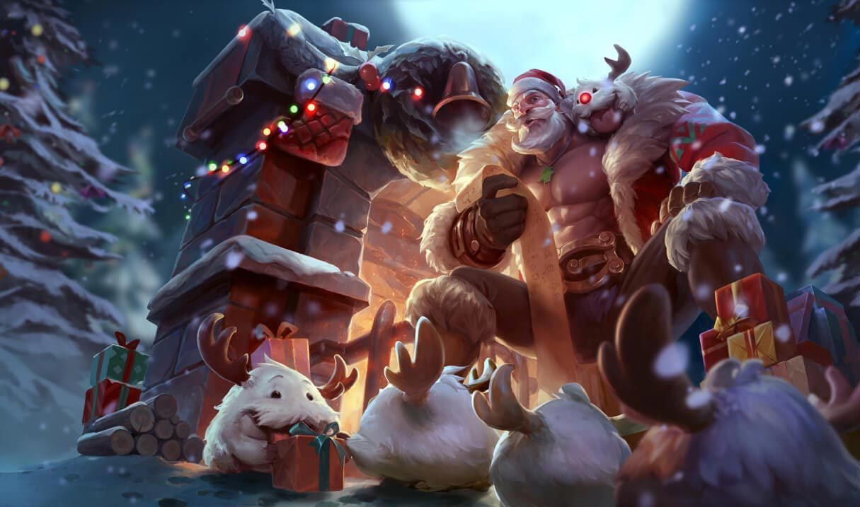 Santa Braum :: League of Legends (LoL) Champion Skin on MOBAFire