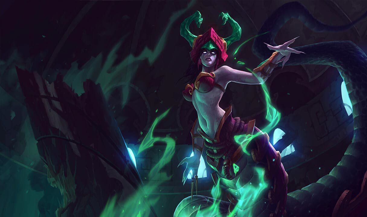 Jade Fang Cassiopeia Landscape Skin