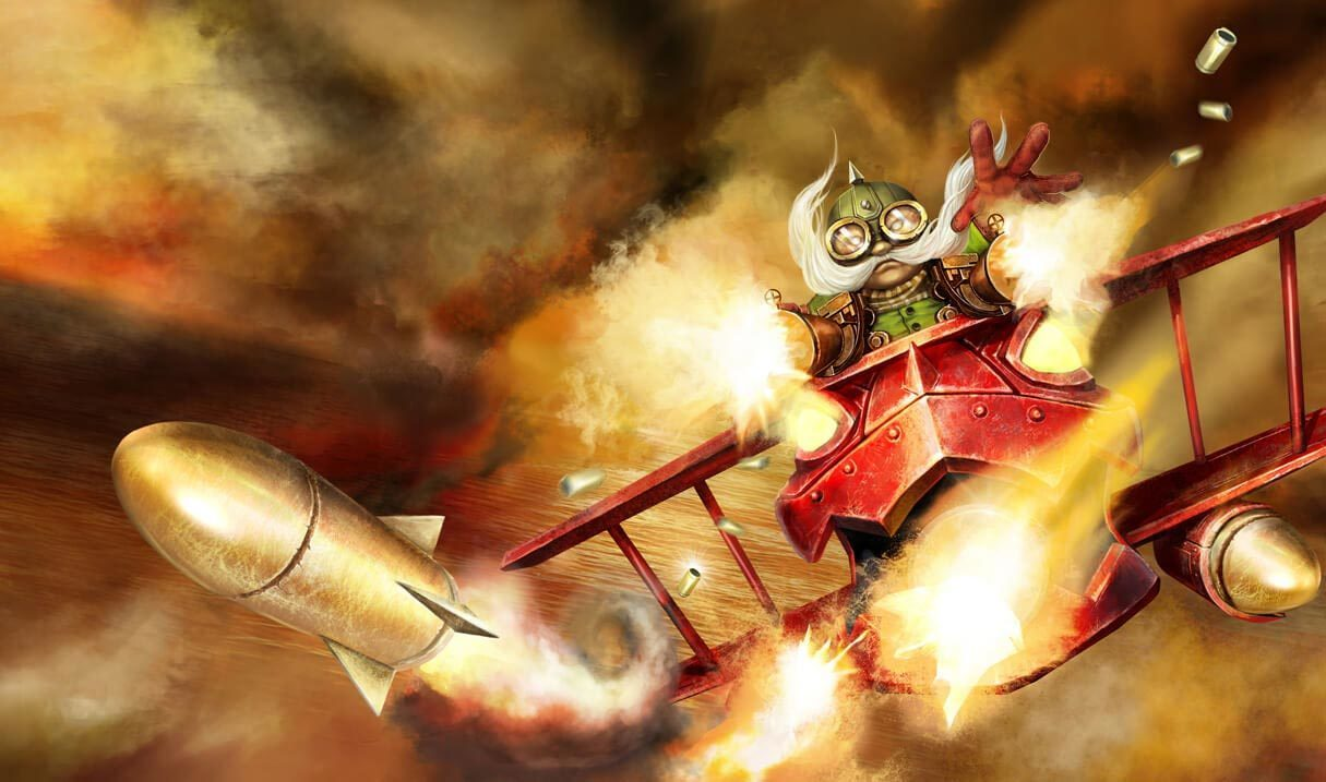 Red Baron Corki :: League of Legends (LoL) Champion Skin on MOBAFire