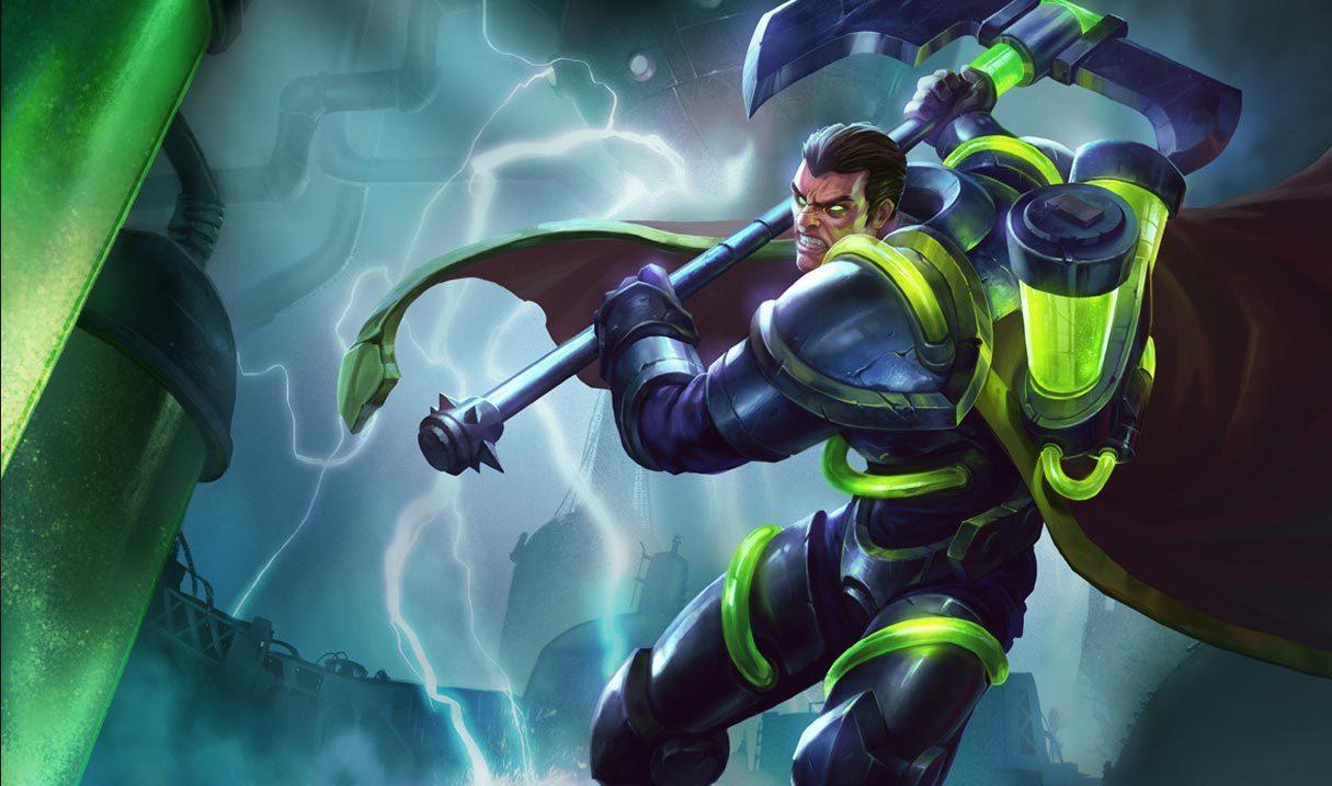 Bioforge Darius League Of Legends Lol Champion Skin On Mobafire