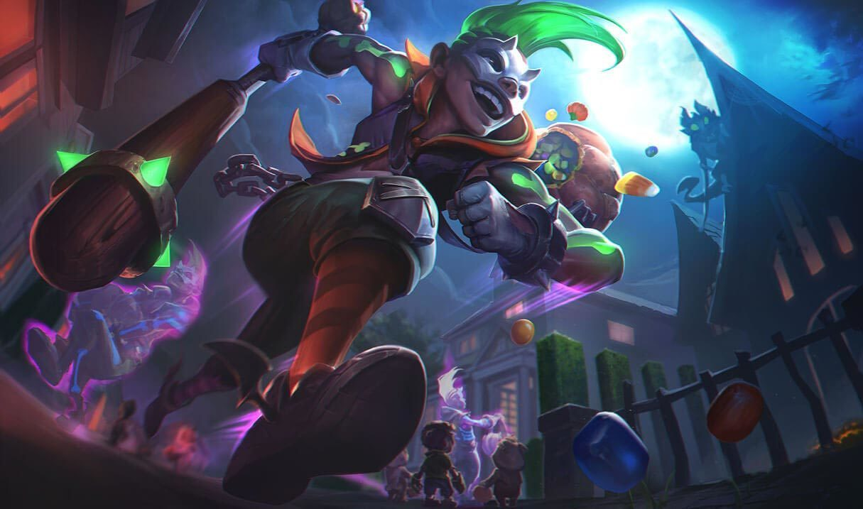 Trick or Treat Ekko Landscape Skin