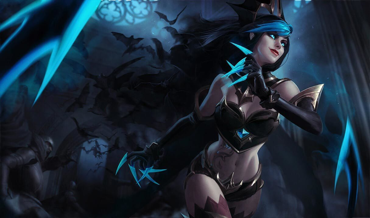 Shadow Evelynn Landscape Skin