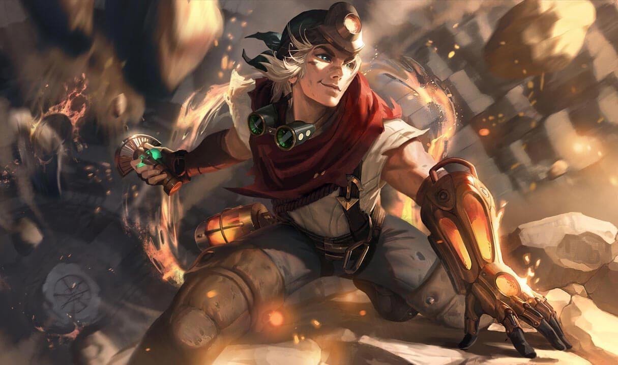 Explorer Ezreal League Of Legends Lol Champion Skin On Mobafire