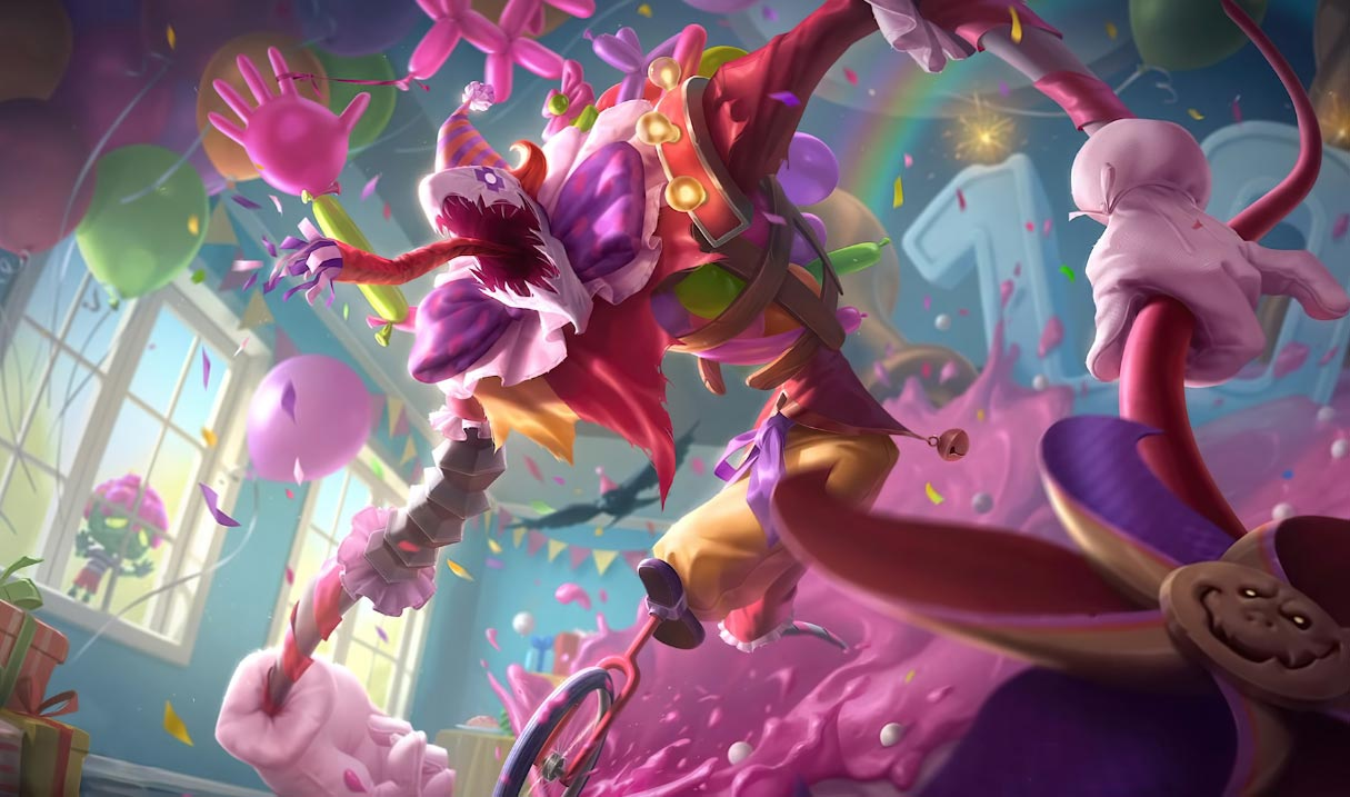 Surprise Party Fiddlesticks Landscape Skin
