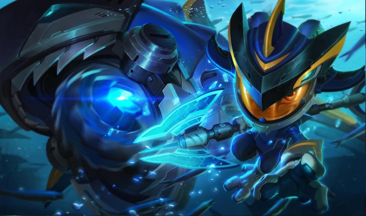 Super Galaxy Fizz League Of Legends Lol Champion Skin On Mobafire