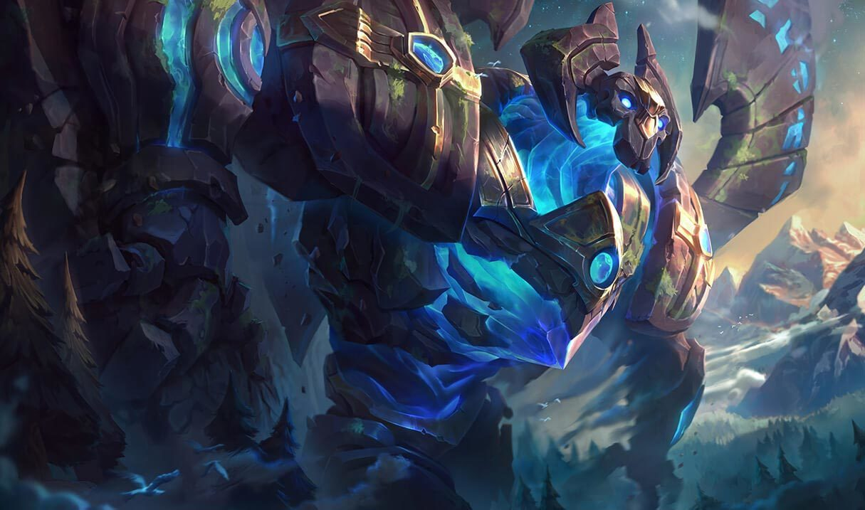 Enchanted Galio Landscape Skin