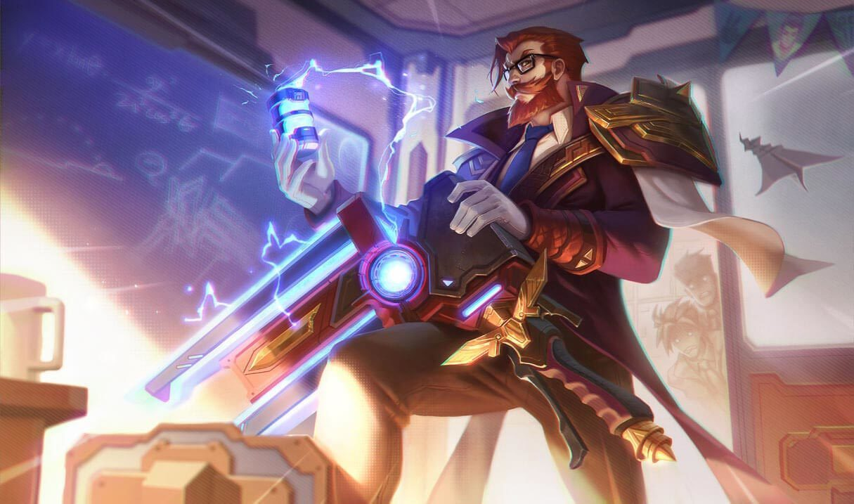 Battle Professor Graves Landscape Skin