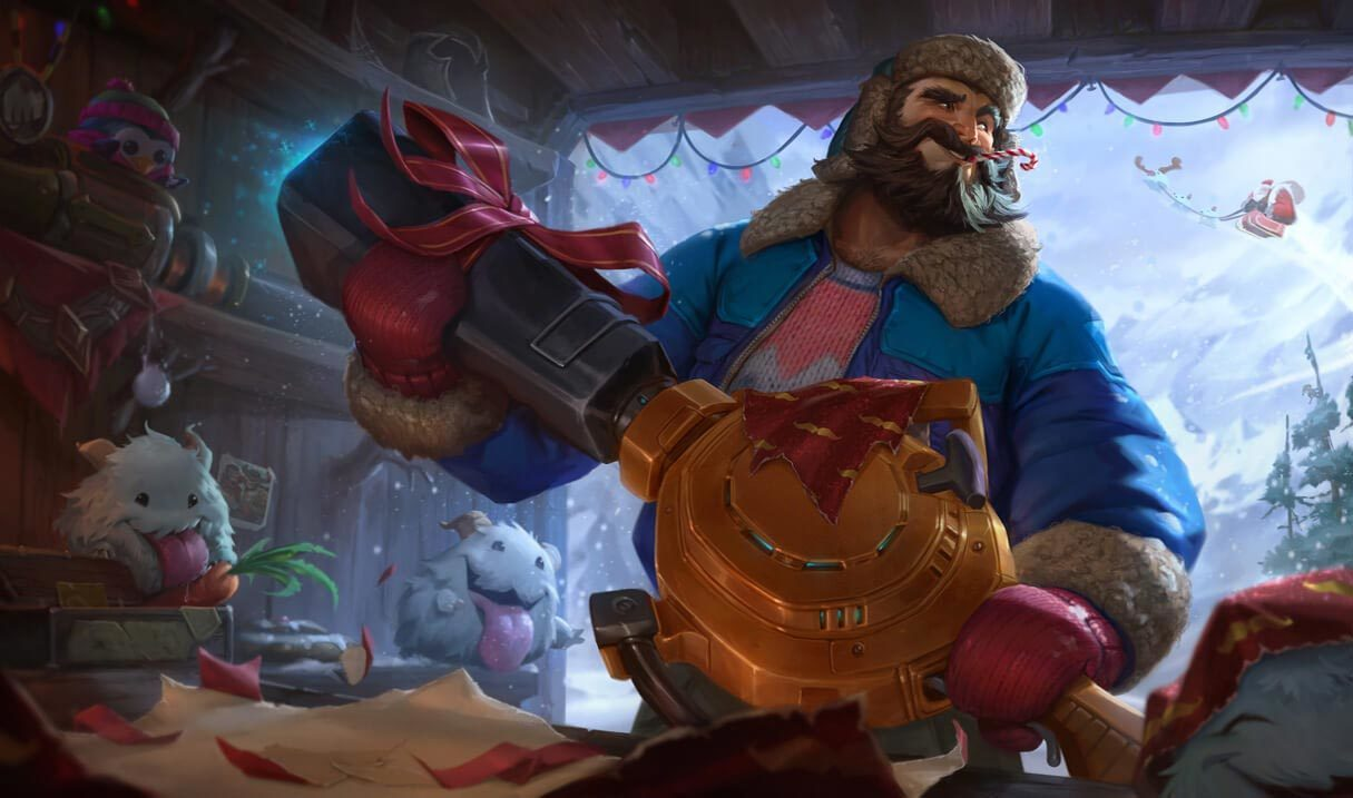 Snow Day Graves Landscape Skin