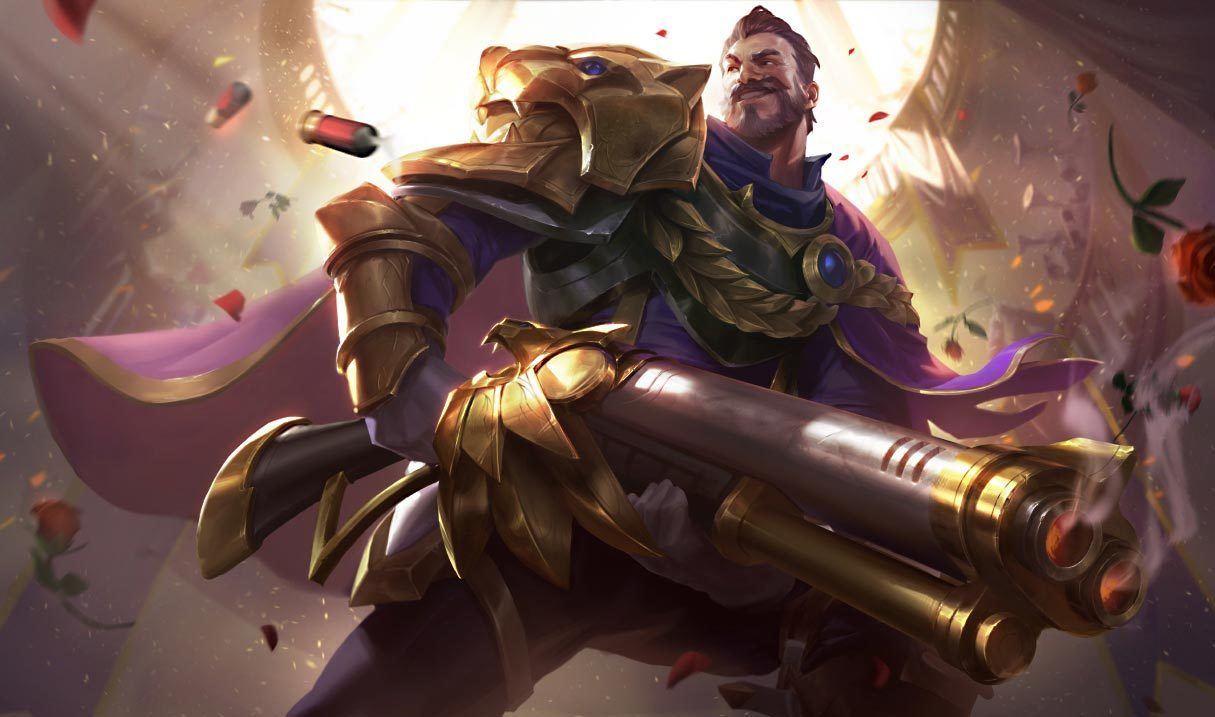 Victorious Graves League Of Legends Lol Champion Skin On Mobafire