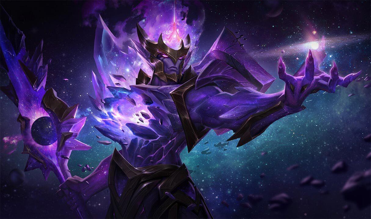 Dark Star Jarvan Iv League Of Legends Lol Champion Skin On Mobafire