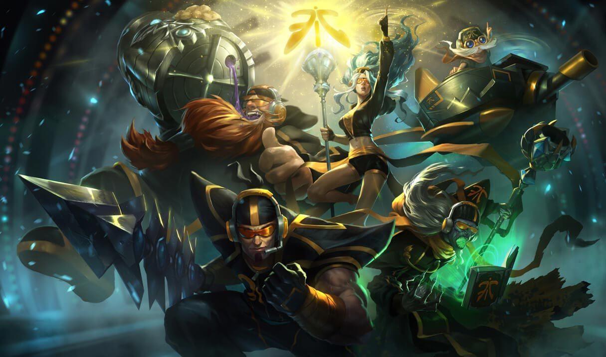 Fnatic Jarvan Iv League Of Legends Lol Champion Skin On Mobafire