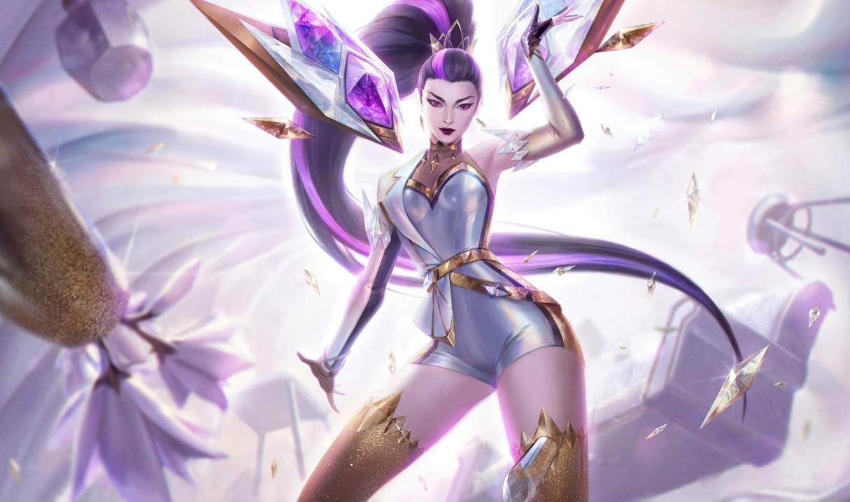 K/DA ALL OUT Kai'Sa Prestige Edition Landscape Skin