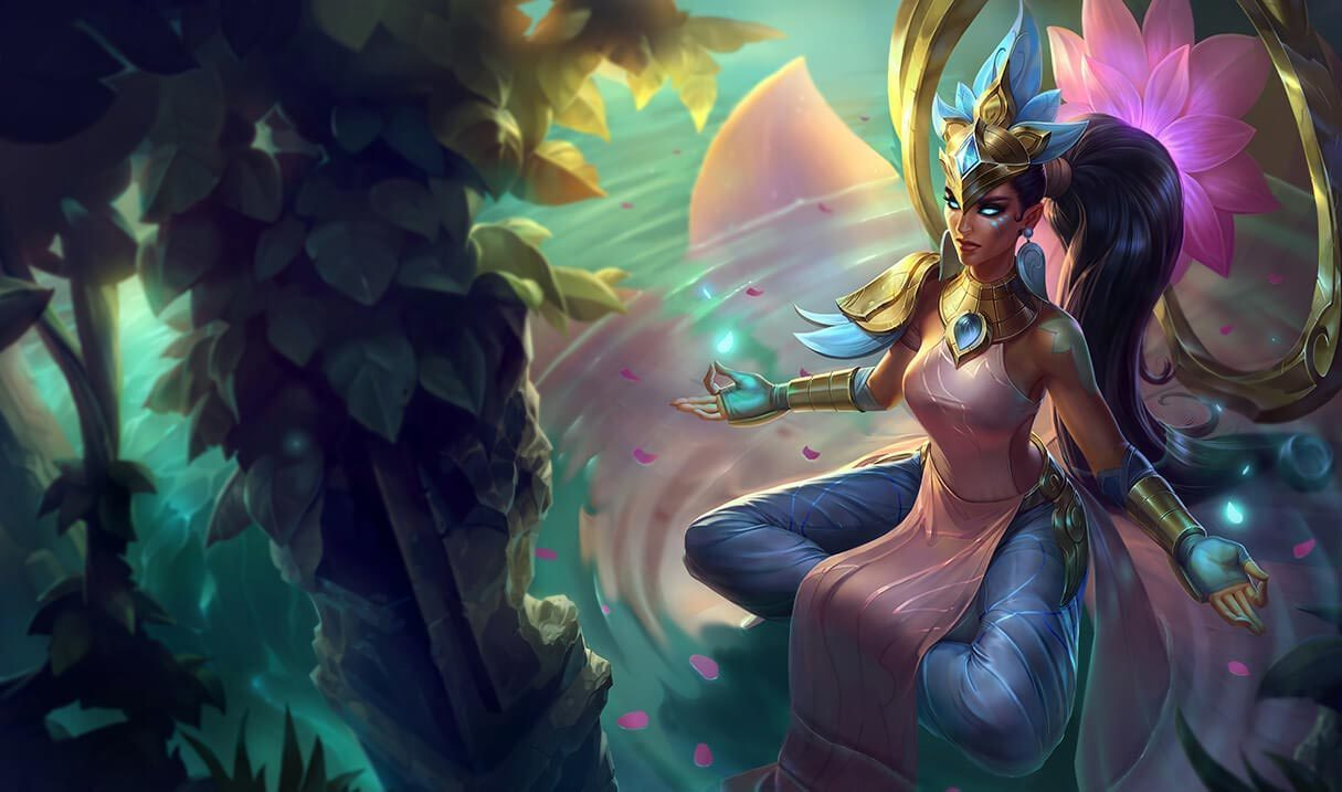 Order of the Lotus Karma Landscape Skin