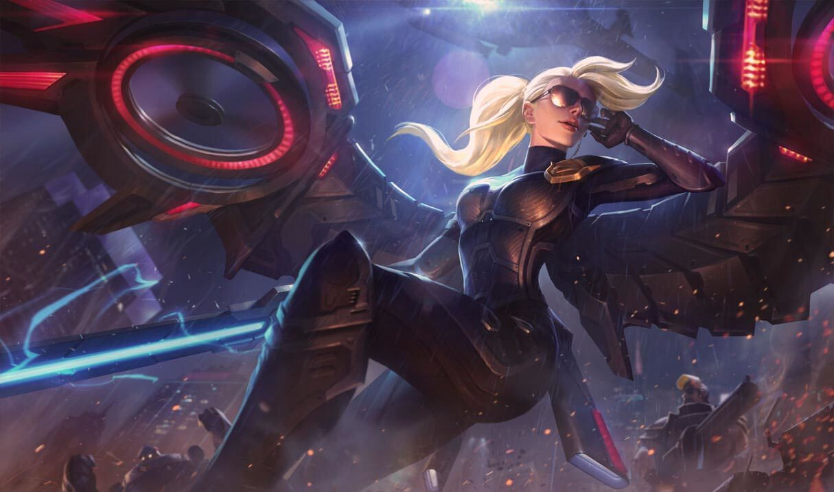 Riot Kayle League Of Legends Lol Champion Skin On Mobafire