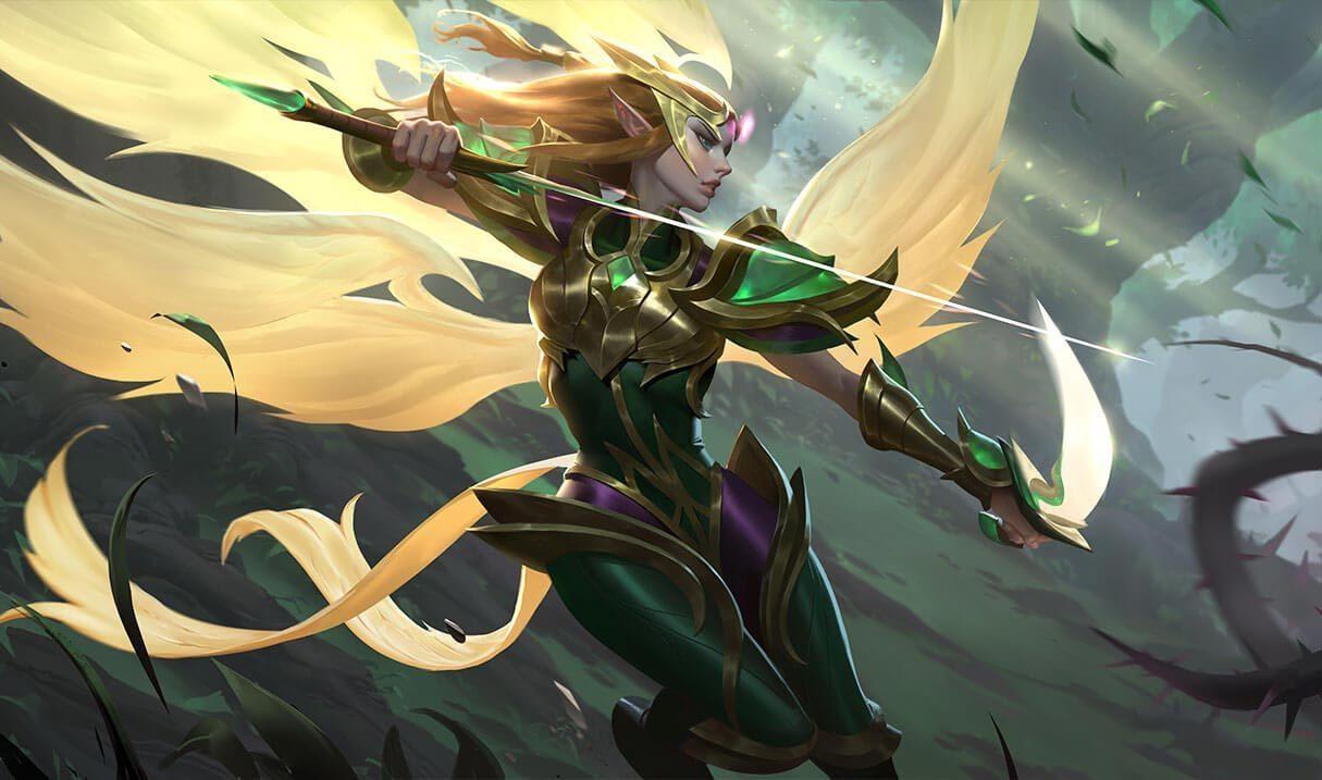 Viridian Kayle League Of Legends Lol Champion Skin On Mobafire