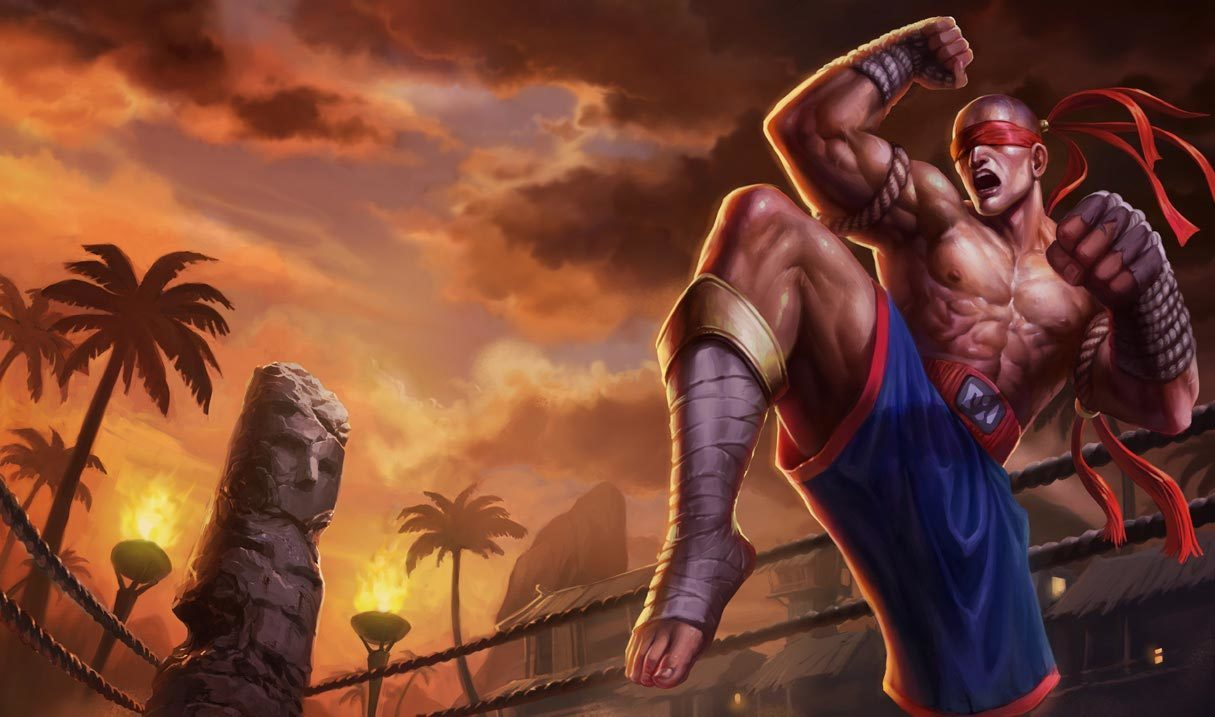 Muay Thai Lee Sin League Of Legends Lol Champion Skin On Mobafire