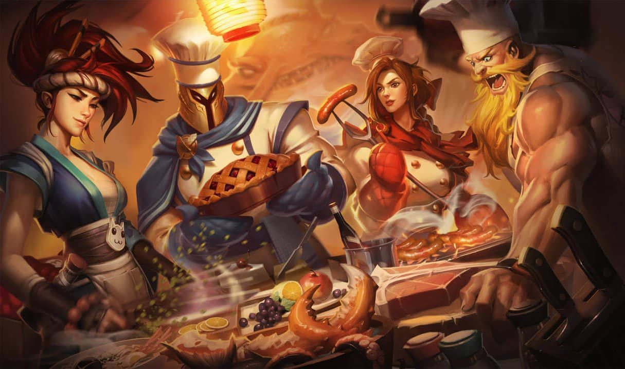 Barbecue Leona League Of Legends Lol Champion Skin On Mobafire