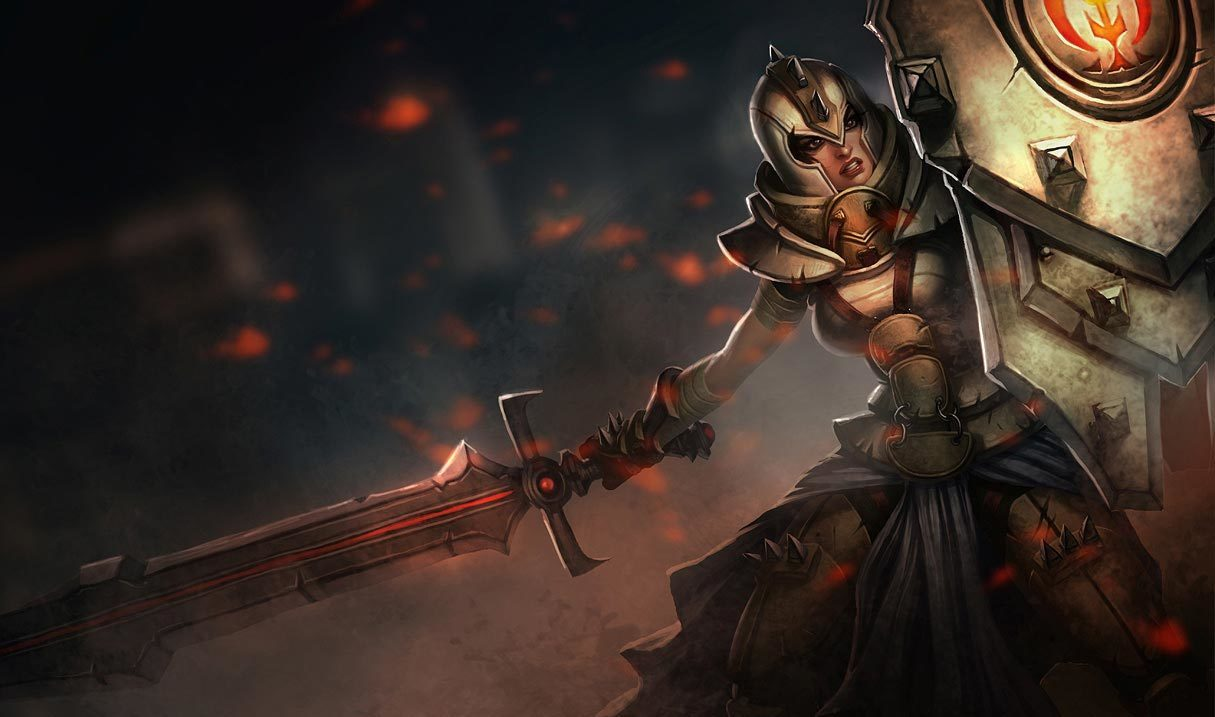 Defender Leona League Of Legends Lol Champion Skin On Mobafire