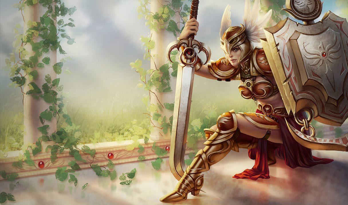 Valkyrie Leona League Of Legends Lol Champion Skin On Mobafire
