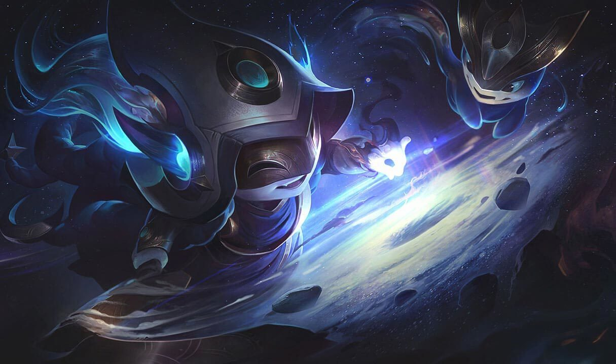 Cosmic Enchantress Lulu Landscape Skin