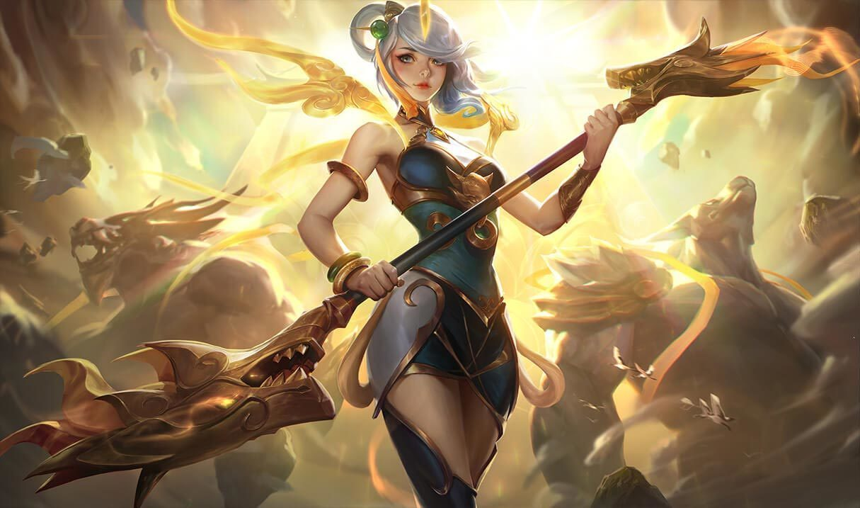 lunar empress lux league of legends lol champion skin on mobafire