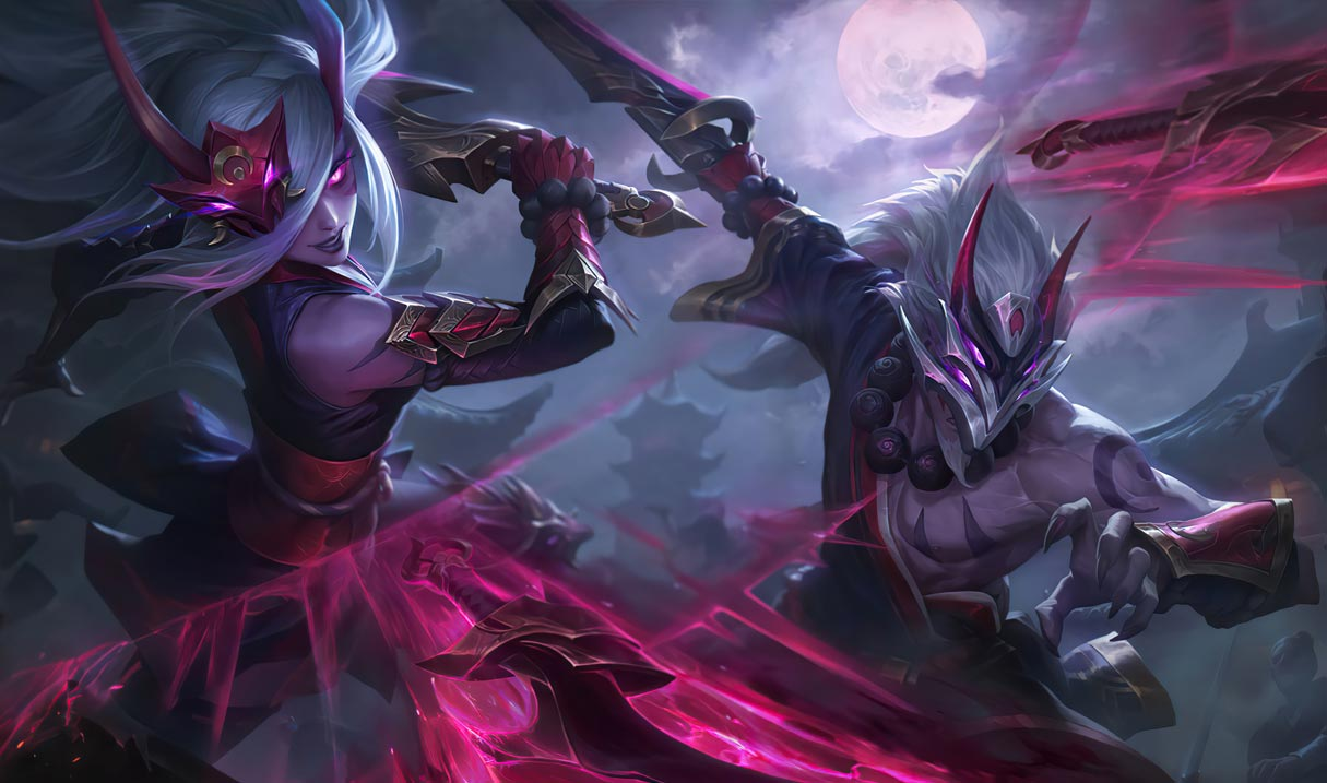Blood Moon Master Yi League Of Legends Lol Champion Skin On