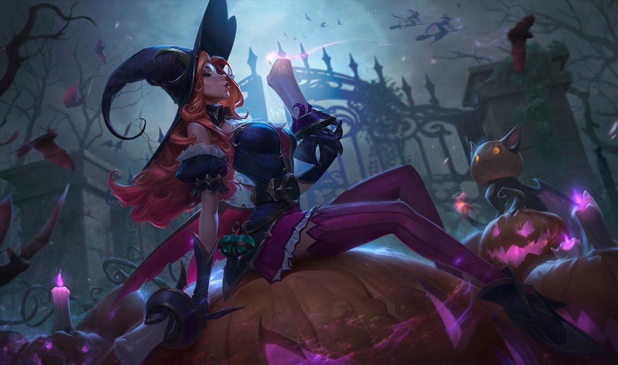 Bewitching Miss Fortune Landscape Skin