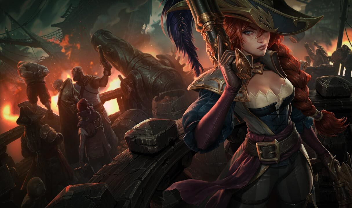 Captain Fortune Landscape Skin
