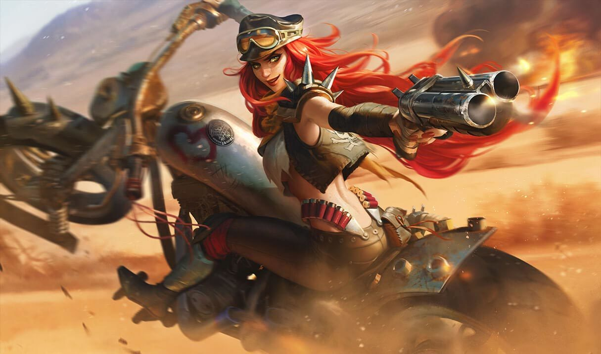 Road Warrior Miss Fortune Landscape Skin